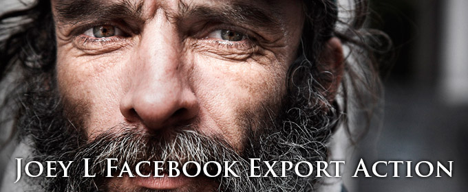 Export High Res for Facebook
