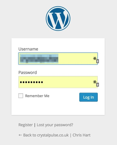 Wordpress Login  | WordPress Tutorial