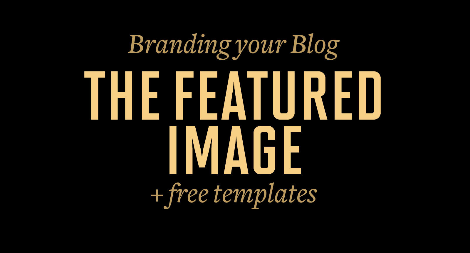 Branding your Blog - The Featured Image | crystalpulse.co.uk