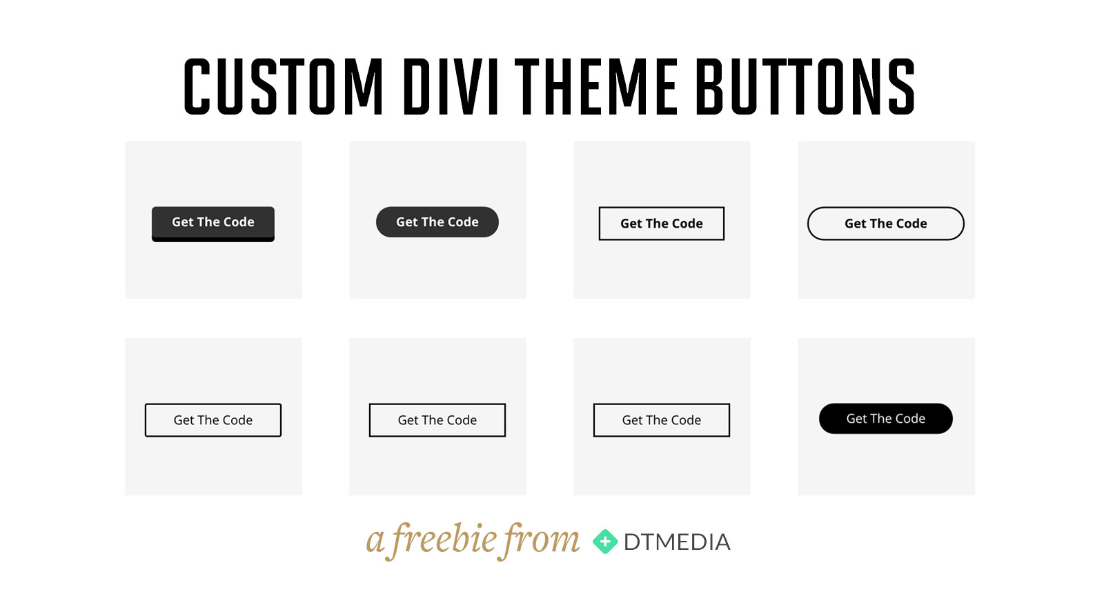 Custom Divi Theme Buttons | crystalpulse.co.uk
