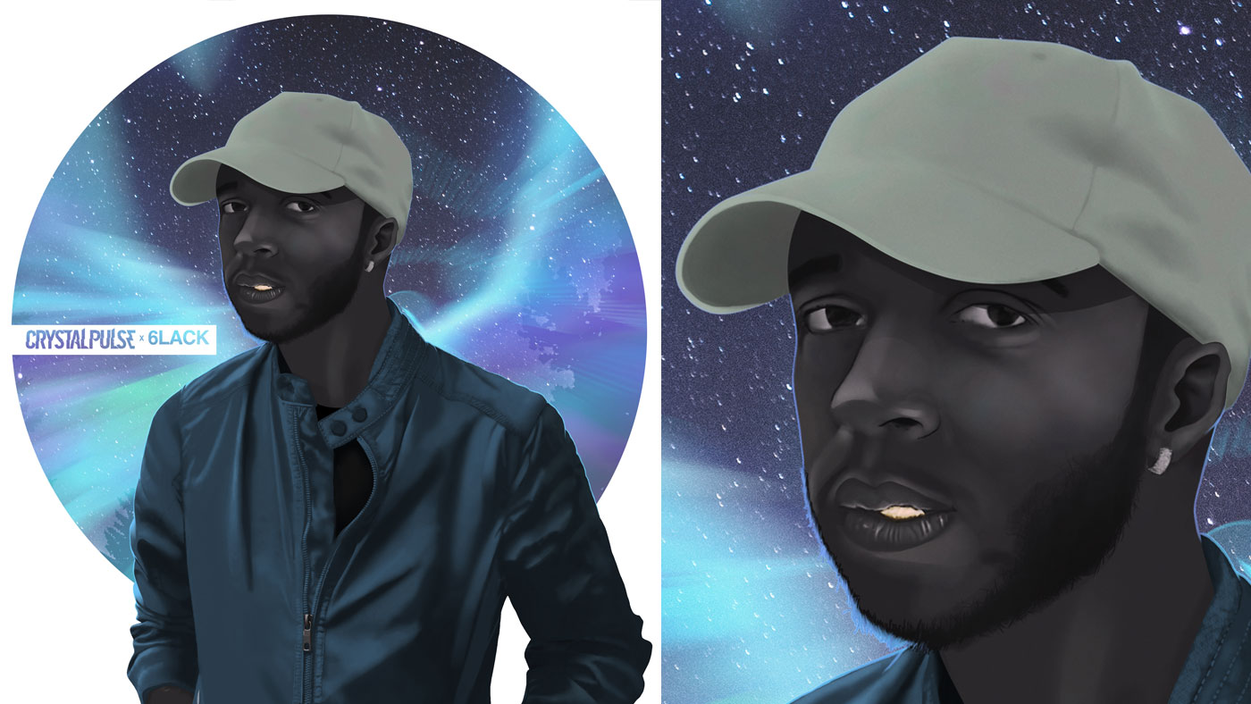 Digital Illustration | 6LACK