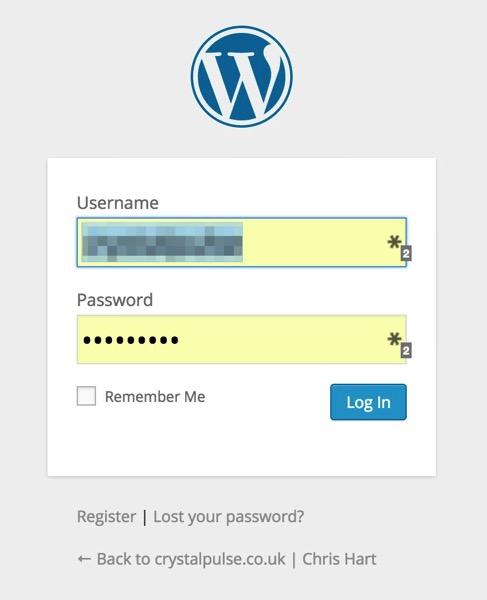 Wordpress Login | WordPress Tutorial
