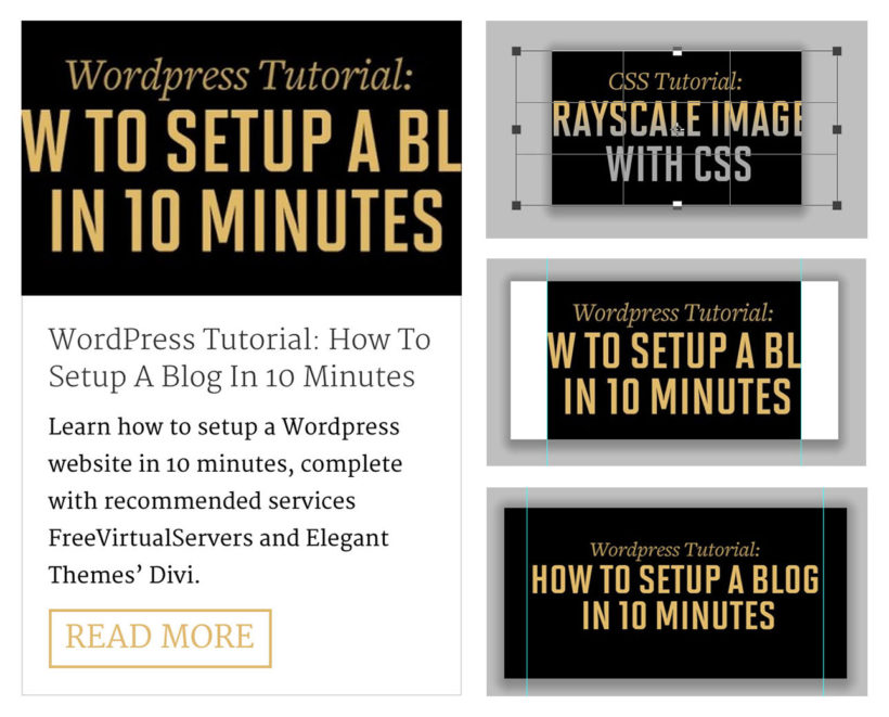 Creating a Featured Image for WordPress