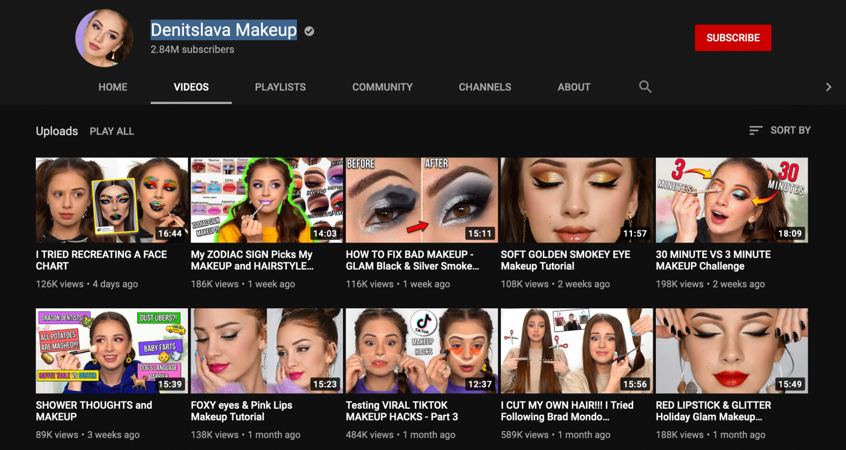 Denitslava Makeup and Beauty's Personal Branding - YouTube